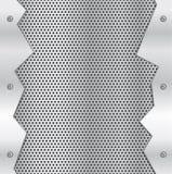 Великолепная предпосылка металла Стоковое Фото