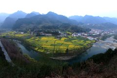Великолепная сельская местность стоковые фото