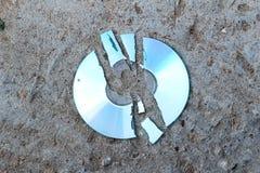 Великолепный компакт-диск Стоковые Фото