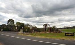 Веллингтон выдалбливает памятник Стоковая Фотография