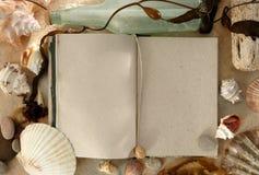 ведите дневник море Стоковые Изображения RF