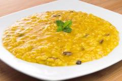 величает шафран risotto стоковые фотографии rf