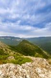 Величественная гора в гранд-каньоне Стоковое Изображение RF