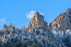 Величественные горы Стоковые Фотографии RF