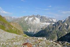 Величественные горы, пик Стоковые Изображения
