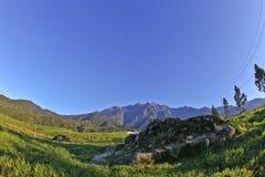 Величественный взгляд Mount Kinabalu Стоковые Фото