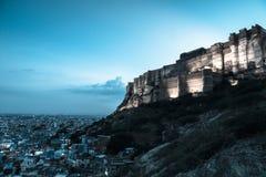 Величественный Джодхпур стоковые фотографии rf