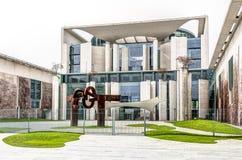 ведомство канцлера федеральное - немец стоковое изображение