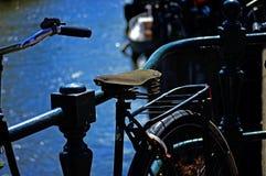 Велосипед Амстердама Стоковые Изображения RF