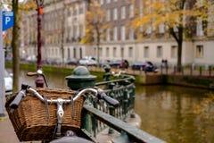 Велосипед Амстердам Стоковое Изображение RF