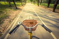 Велосипед дальше Стоковые Изображения