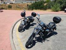 2 велосипеда cudtom стоковое изображение rf