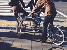 Велосипед битника Стоковое фото RF