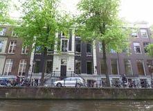 Велосипед в городе велосипеда, Амстердам Стоковое фото RF