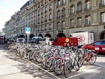 Велосипед в Bern, Швейцарии Стоковое Фото