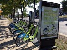 Велосипед города Стоковое Изображение