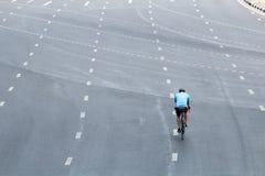Велосипед езды людей Стоковое Изображение
