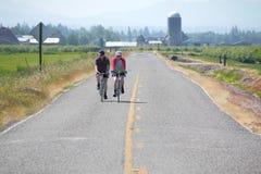 2 велосипедиста Вашингтона Стоковые Изображения RF