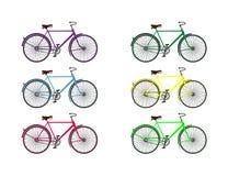 Велосипедисты от недавнего прошлого Стоковое фото RF