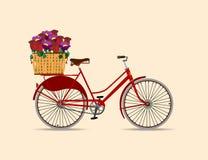 Велосипедисты от недавнего прошлого Стоковое Изображение RF