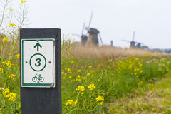 Велосипедисты радушны! Стоковые Изображения RF