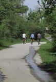велосипедисты Стоковое Изображение