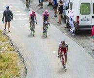 Велосипедист Альберто Losada Alguacil - Тур-де-Франс 2015 Стоковое Фото