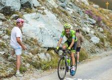 Велосипедист Дилан фургон Baarle - Тур-де-Франс 2015 Стоковые Изображения RF