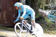 Велосипедист заграждения Lars голландца Стоковое Фото