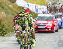 Велосипедист Майкл Rogers - Тур-де-Франс 2015 Стоковое Фото