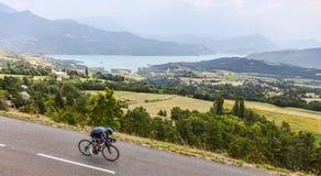 Велосипедист Питер Kennaugh Стоковое Изображение