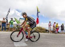 Велосипедист Тайлер Farrar - путешествуйте de Франция 2015 Стоковое Изображение RF