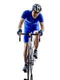 Велосипедист Стоковое фото RF
