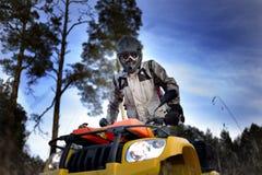 Велосипедист ATV Стоковое фото RF