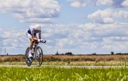 Велосипедист Brice Feillu Стоковое Изображение