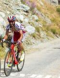 Велосипедист Giampaolo Caruso - Тур-де-Франс 2015 Стоковые Фото