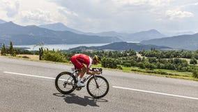 Велосипедист Guillaume Levarlet Стоковые Фотографии RF