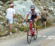 Велосипедист Stijn Devolder - Тур-де-Франс 2015 Стоковое фото RF