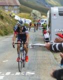 Велосипедист Sylvain Chavanel - Тур-де-Франс 2015 Стоковое Изображение