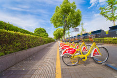 Велосипед Китая общественный Стоковые Фотографии RF