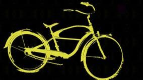 Велосипед крейсера пляжа Стоковое фото RF