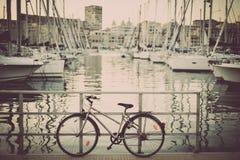 Велосипед на набережной Стоковые Изображения RF