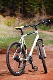 Велосипед дороги на дороге в горе стоковые изображения rf