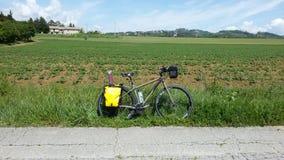 Велосипед перемещения стоковое изображение