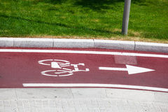 велосипед путь Стоковые Изображения