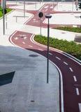 велосипед путь Стоковое Фото