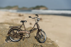 велосипед пляжа Стоковая Фотография