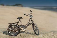 велосипед пляжа Стоковое Изображение