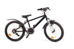 Велосипед ребенка на белизне Стоковая Фотография RF