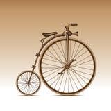 велосипед ретро Стоковая Фотография